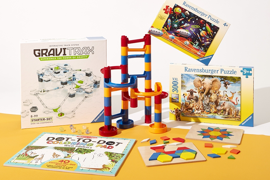 Make solo play for kids fun and educational with problem-solving puzzles and games.
