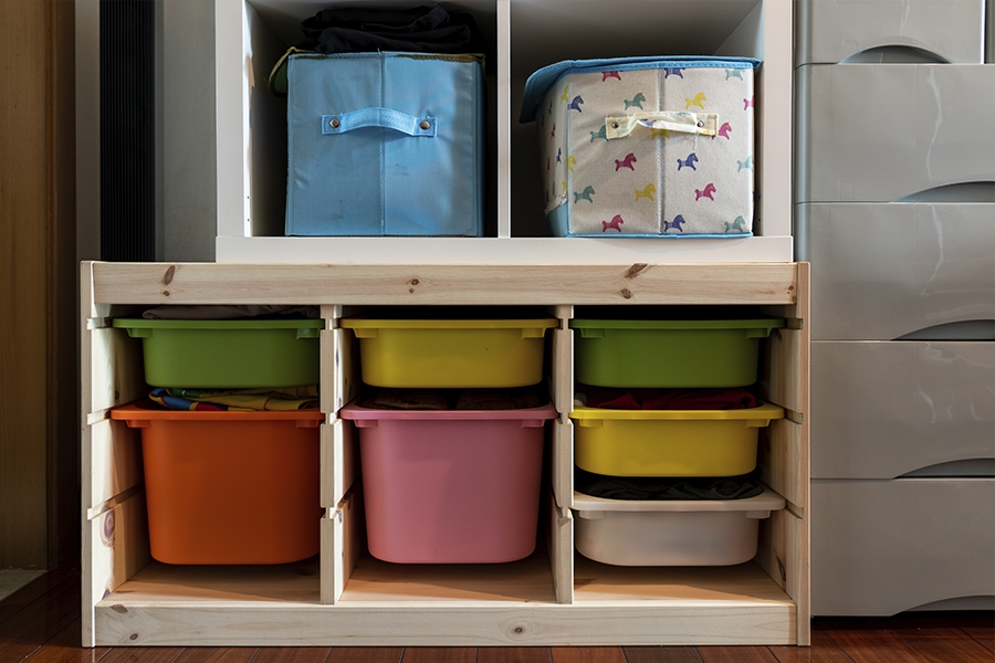 Get organised for optimal at-home learning with these storage ideas for kids rooms