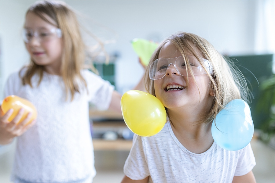 Teach kids about static electricity at home with this fun and easy STEM activity idea