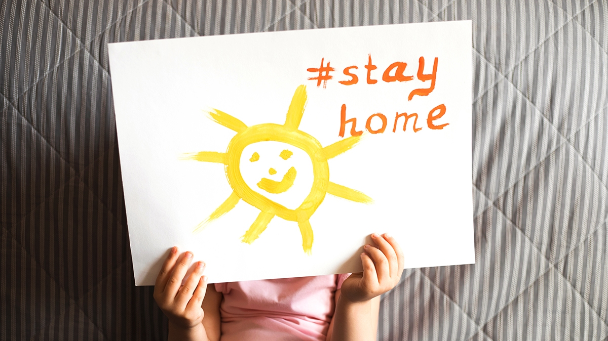 Isolation ideas to keep kids happy at home