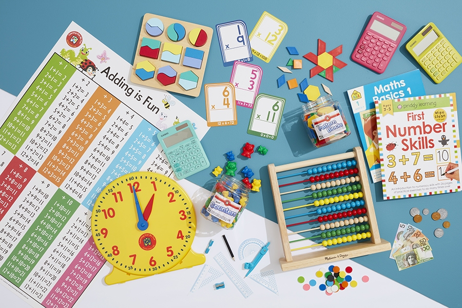Educational math resources, games and toys for teaching kids and learning at home