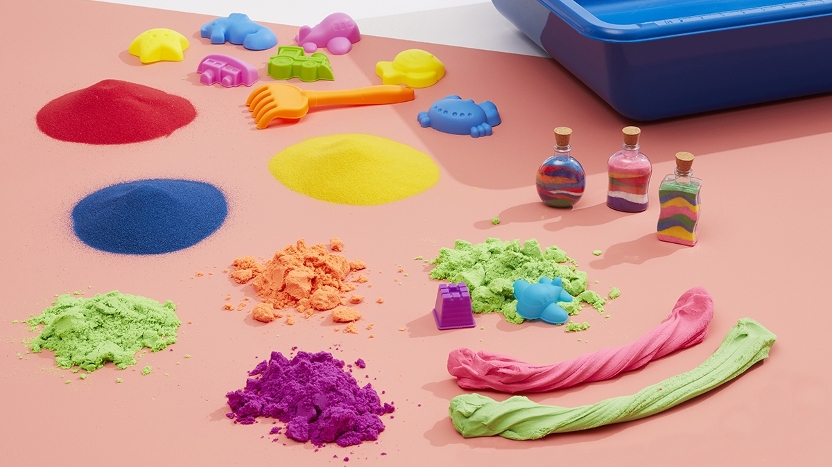 Playing with sensory sand is just one of the STEM learning activities kids will love.