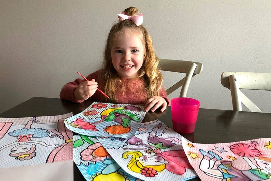Art projects for kids don't come easier than the My First Paint series.