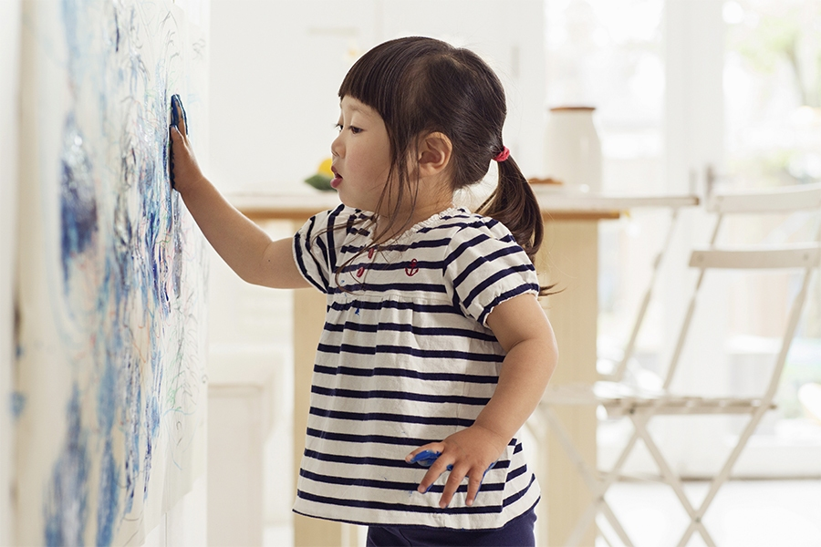 Keep preschoolers busy when they're stuck indoors with these fun activity and craft ideas
