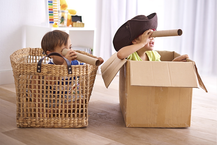Next time your preschool kids are stuck indoors, try these fun activities and games.