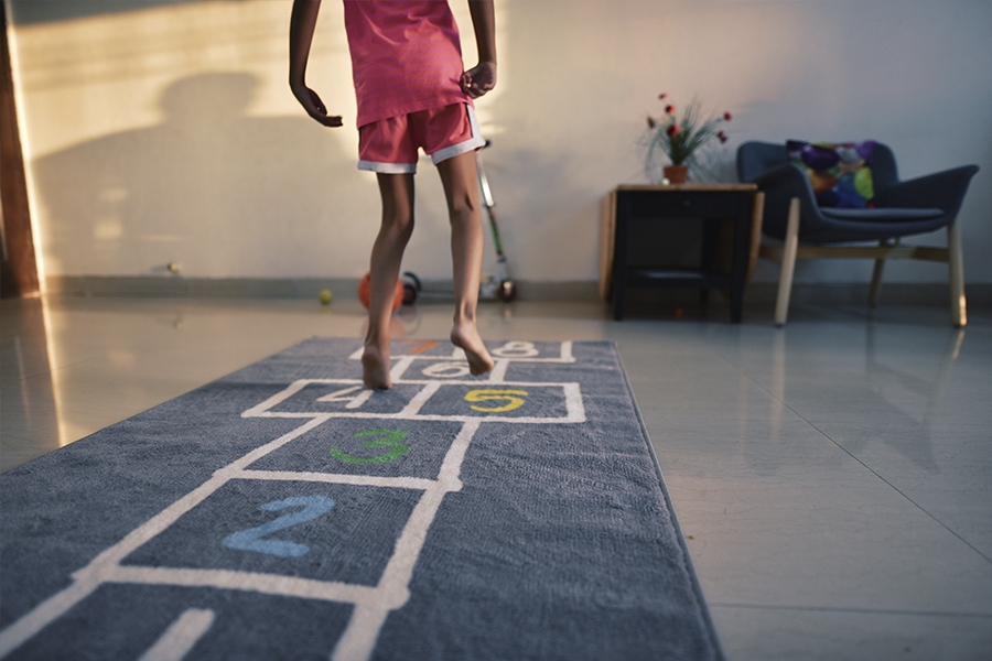 Get younger kids active with physical games and activities you can do indoors