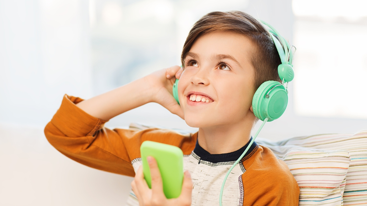 Top podcasts for kids to download and listen to that are educational, too.
