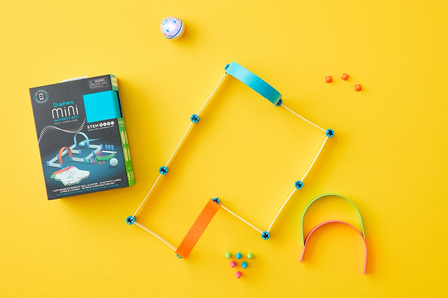 Upper primary school kids review the Sphero Mini as part of Officeworks Test Drive series