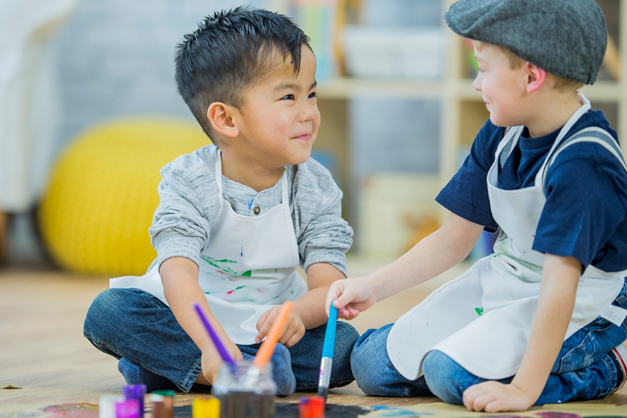 Teaching social skills is an important part of getting your preschooler ready for big school