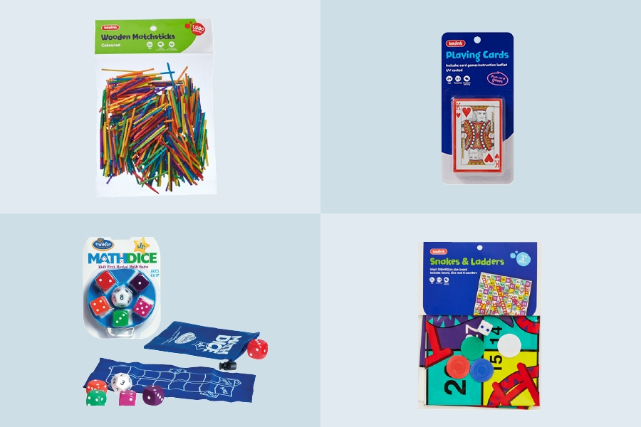 The best maths classroom educational supplies for teaching primary school kids.