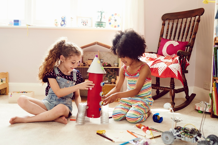 Use special interest projects to motivate kids when learning at home.