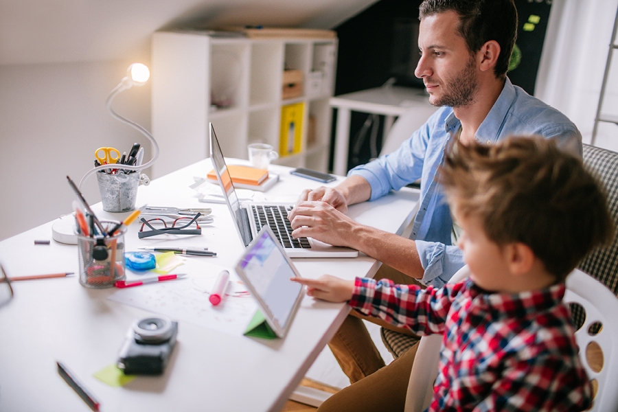 These key tips will help when working from home with kids during social isolation.