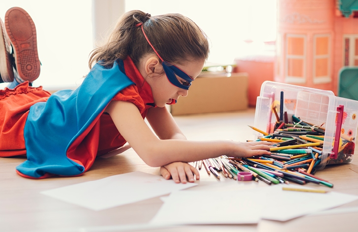 Fresh ideas and activities to keep kids entertained.