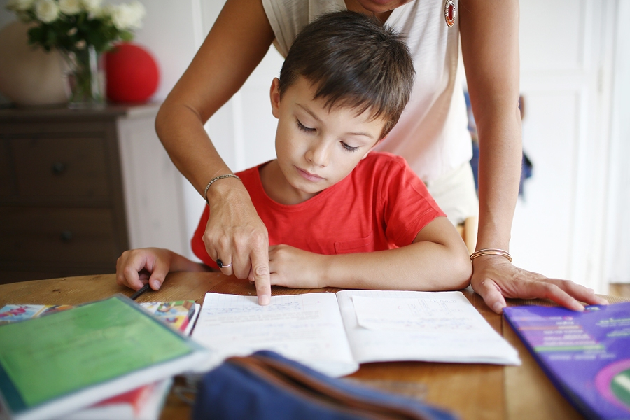 Getting kids into a homework routine early will help improve their study skills.