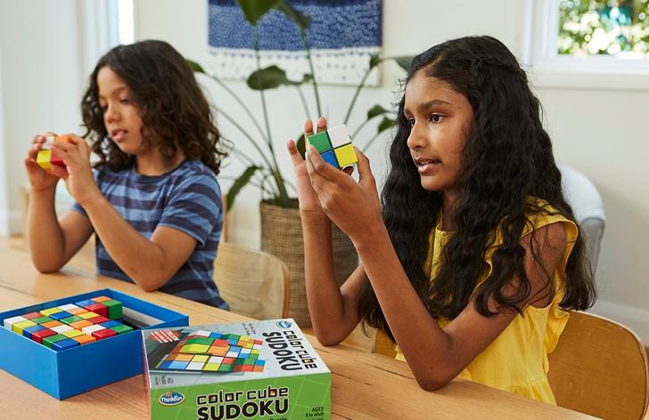 STEM Test Drive: Thinkfun Colour Cube Sudoku Puzzle Review