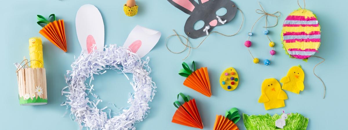 12 Easy Easter Crafts for Kids