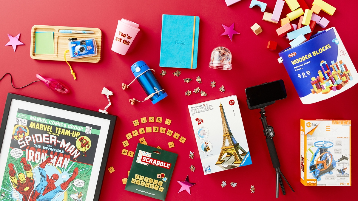 A list of the best Christmas gifts under $50 for everyone in your life from Officeworks