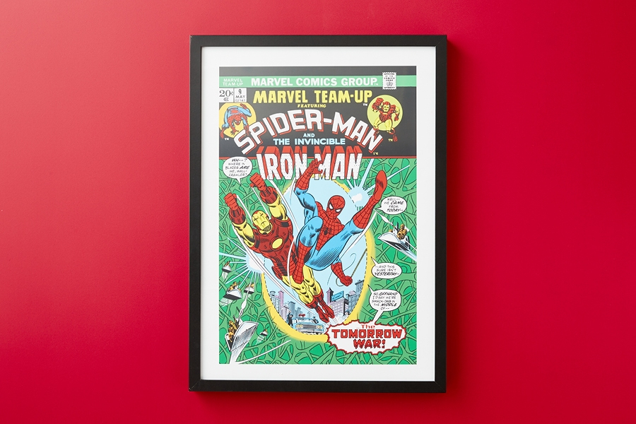 Best ideas for cool Christmas gifts under $50: graphic comic poster art for kids and teens