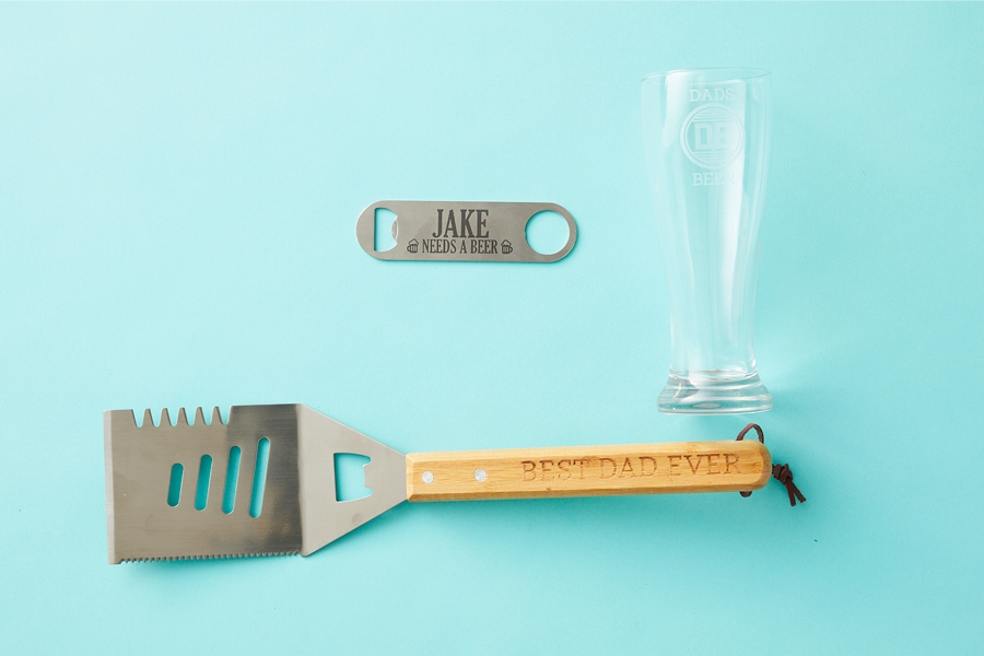 The best personalised drinking and barbecue gifts for Dad this Christmas