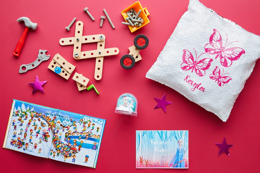 Fun DIY and construction toys and Christmas gifts for younger kids