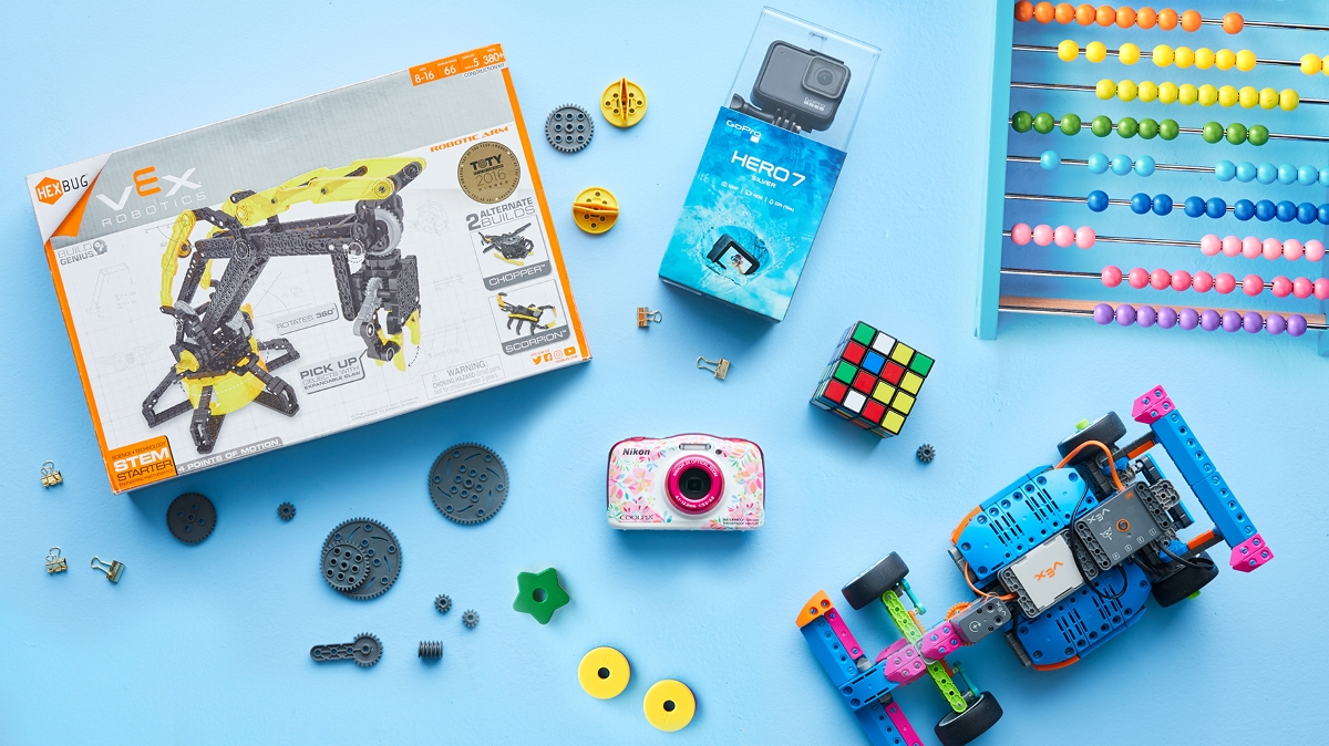 The best educational toys for kids of all ages to give as Christmas gifts this year.