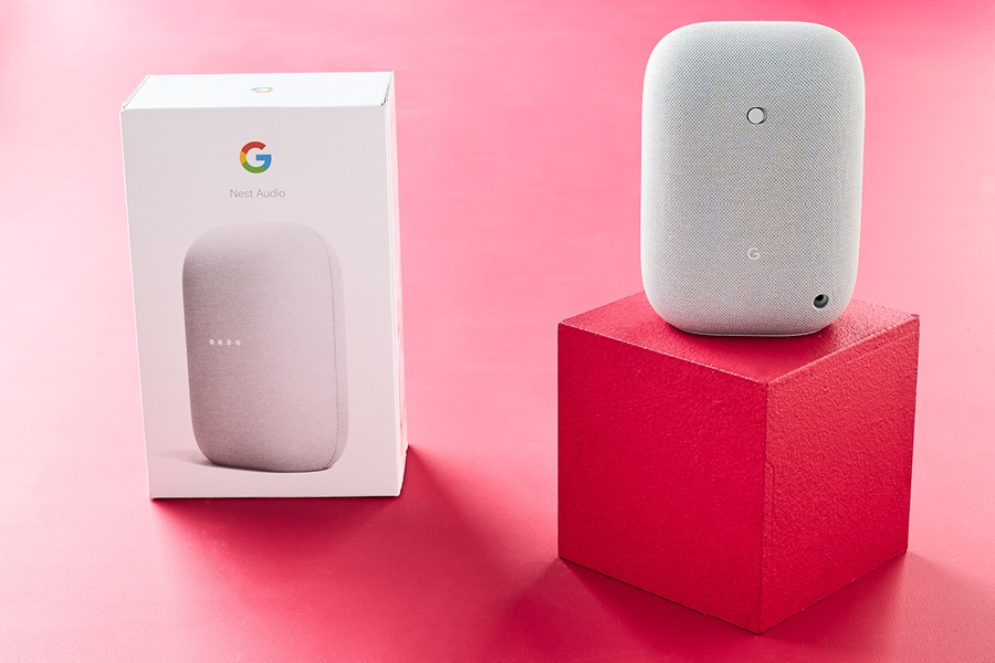 One of the best Valentine's Day gifts is a virtual assistant like Google Nest Audio.