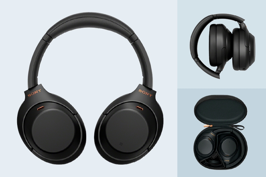 Sony WH1000XM4 are one of the best noise-cancelling headphones on the market.