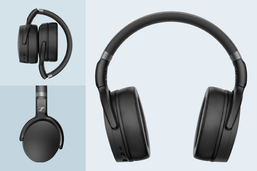 Sennheiser HD 450BT noise-cancelling headphones offer well-balanced audio.