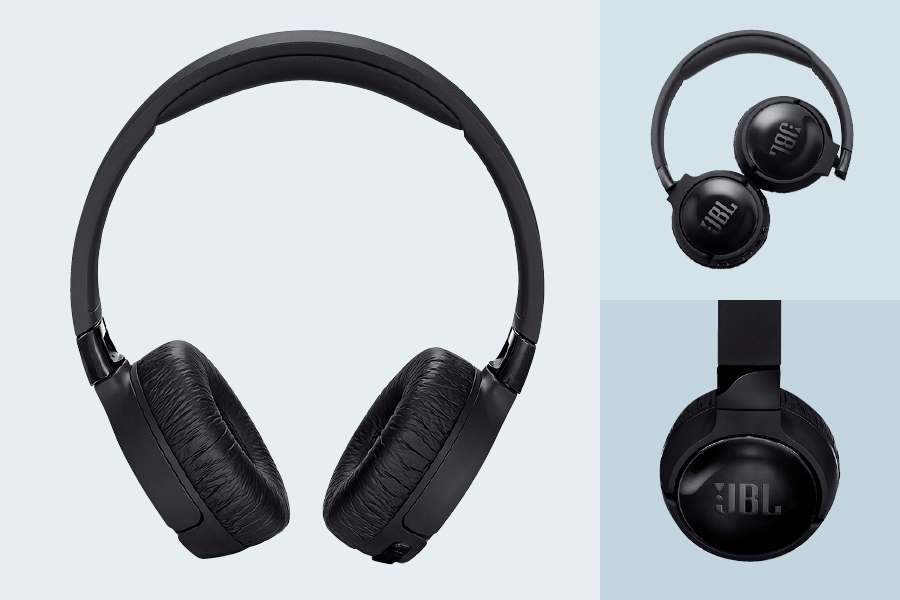 The JBL Tune Wireless noise-cancelling headphones 600BTNC are good for commuters.