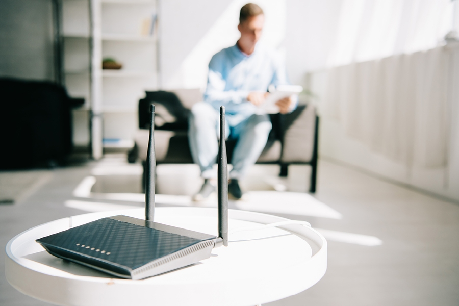 Upgrading your WiFi router will help to boost the WiFi signal in your house