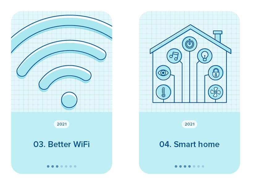 Making sure your house has great wifi is a key technology priority