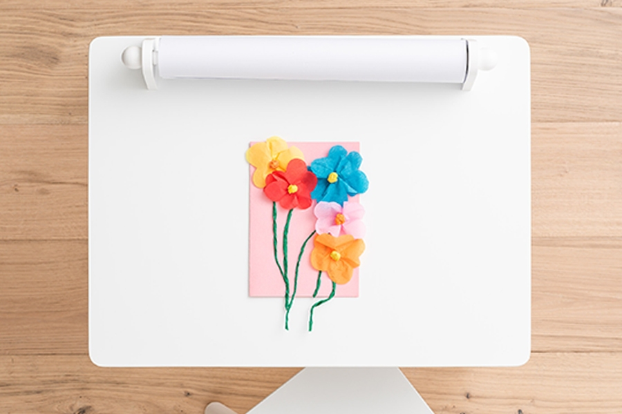 Crafts for kids: Homemade Mother's Day card