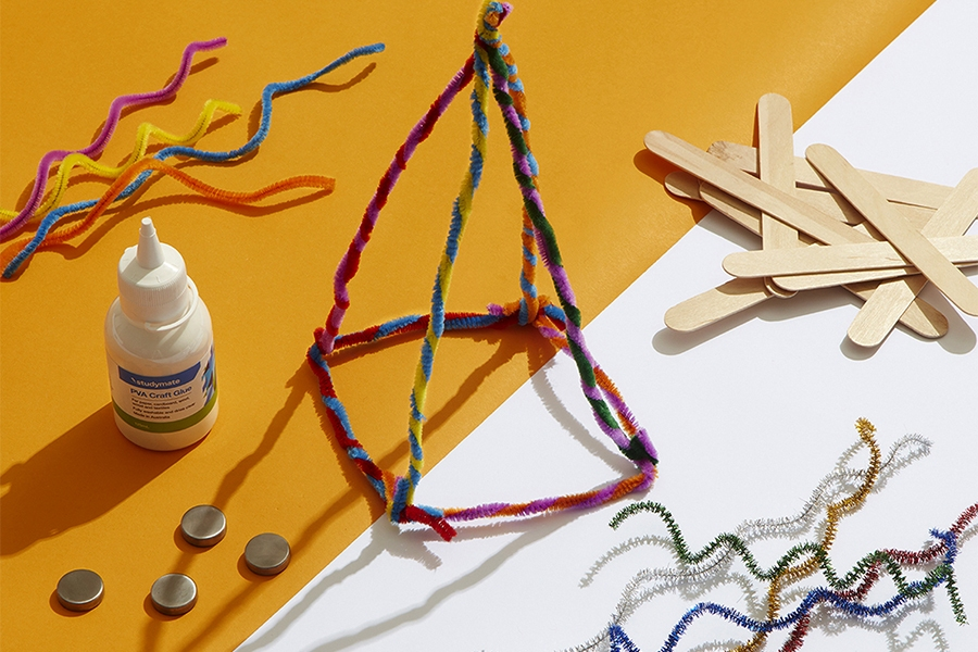 Officeworks pipe cleaners are perfect for STEM activities