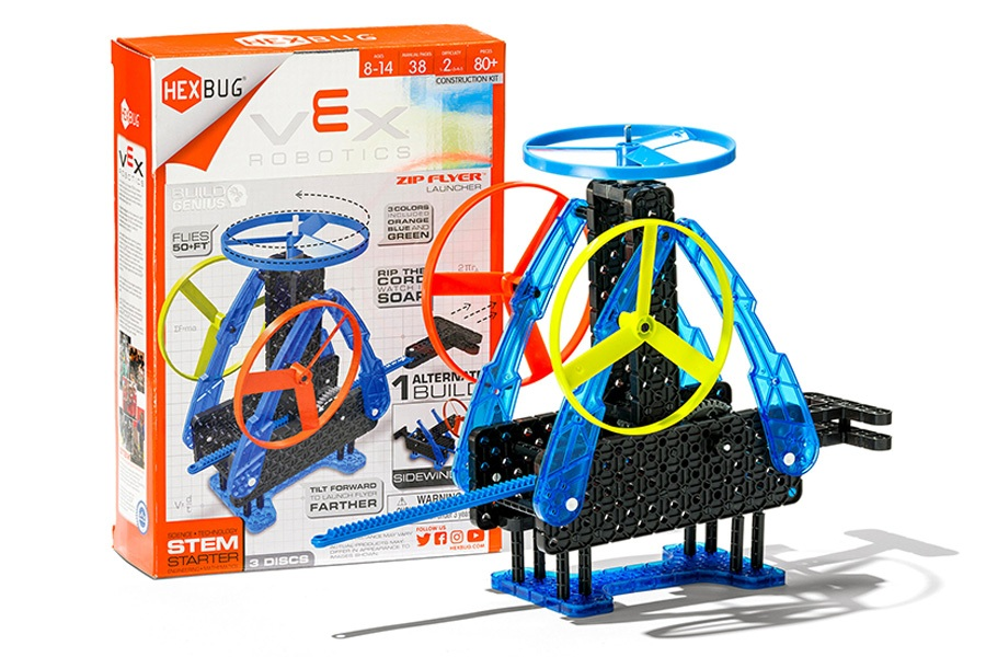 Officeworks STEM learning toy: Vex Robotics zip flyer