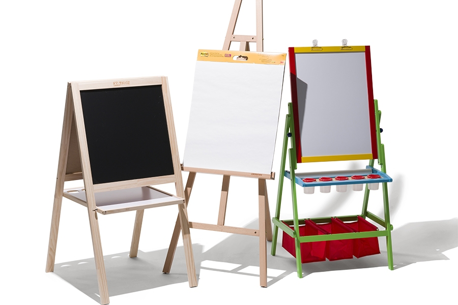 Officeworks painting easels for kids to use at home