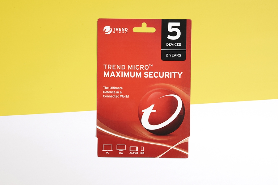 Trend Micro Maximum Security software programs