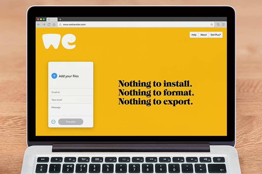 WeTransfer is a top free remote work tool to share files