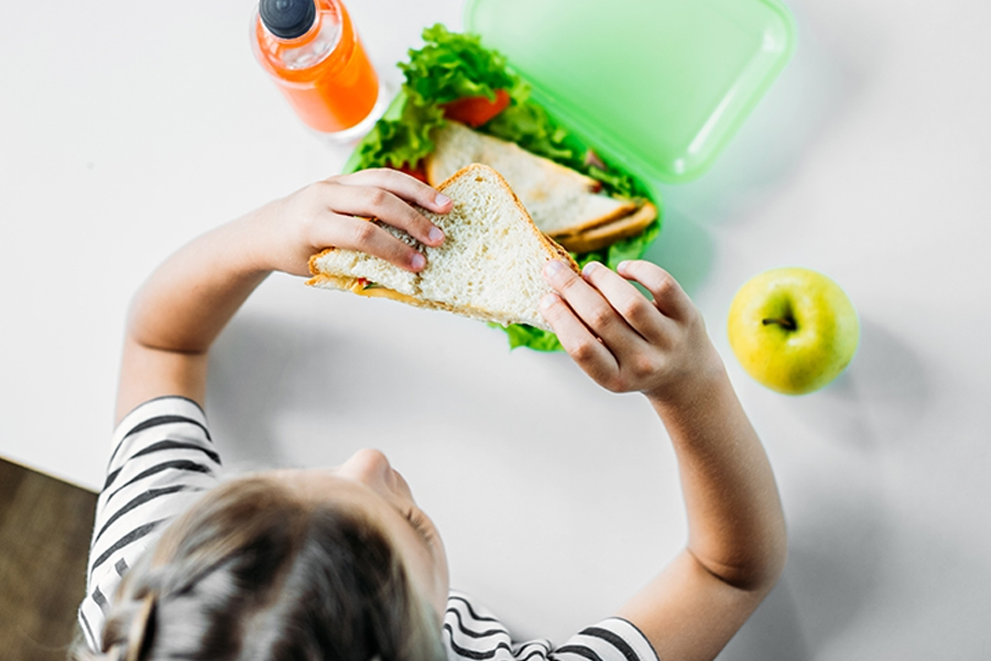 Work remotely with kids and stay sane by packing their lunchbox