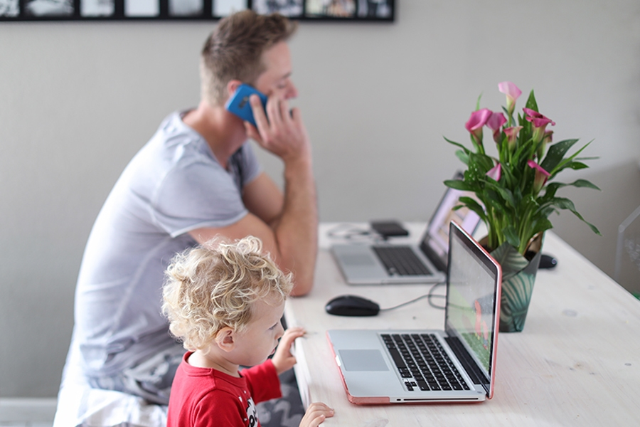 Working from home tip: Save screen time for when you really need it