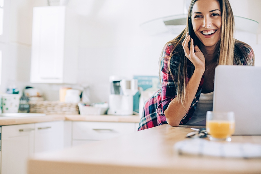 Stay connected with technology when working from home