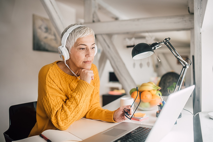 Stay busy while working from home with podcasts