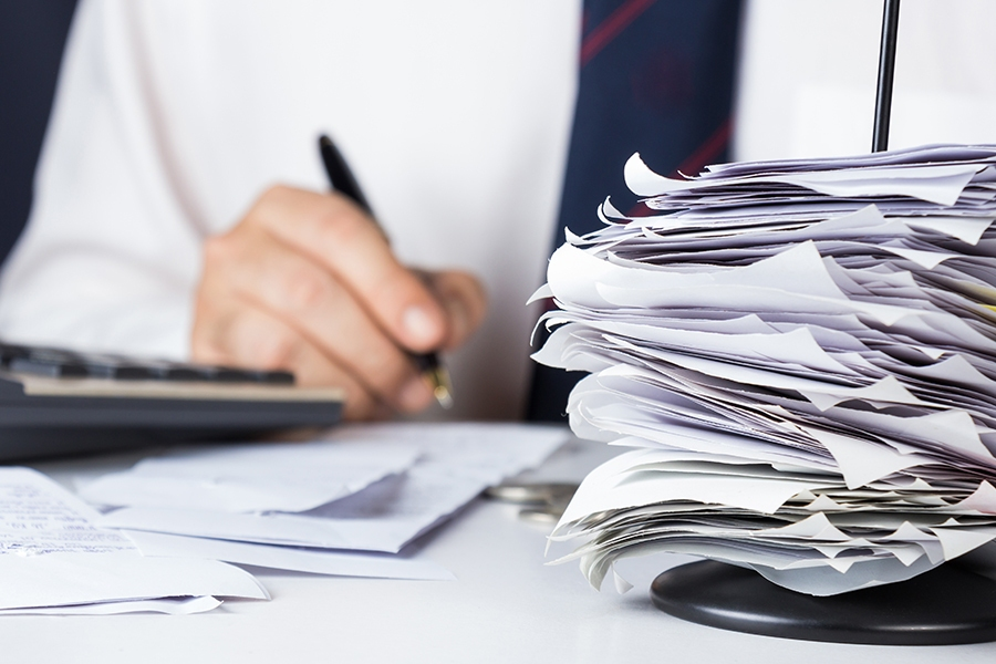 Tax time tip: keep invoices organised