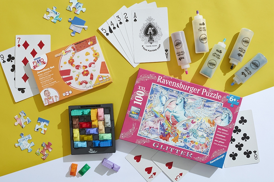 Officeworks arts and crafts sets and kids games