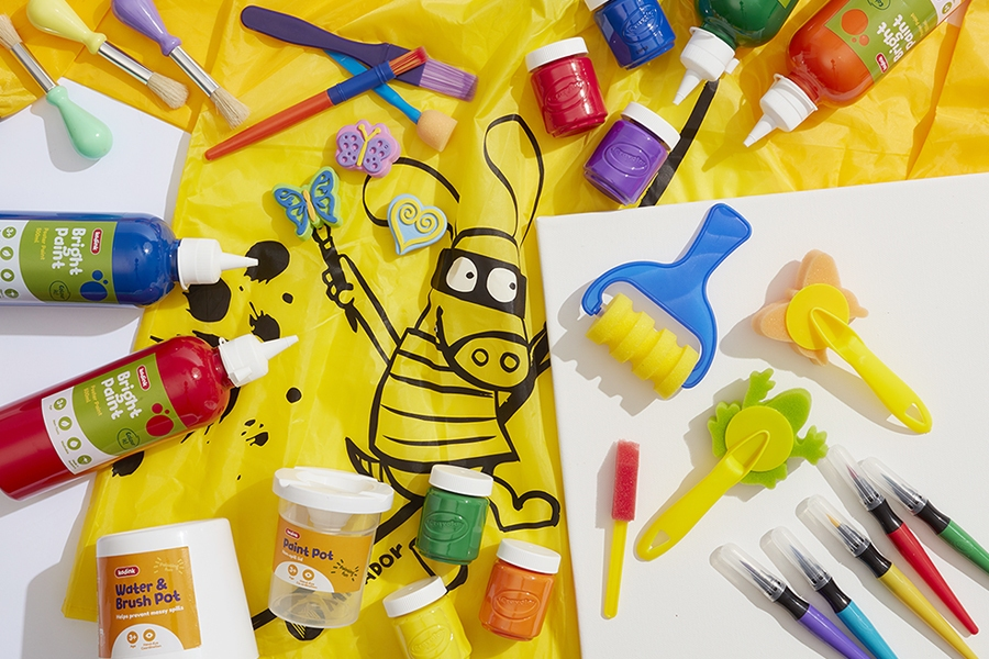Officeworks kids painting supplies
