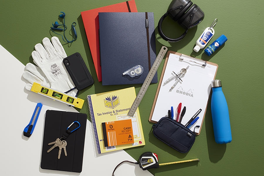 Officeworks workspace supplies for the outdoors professional