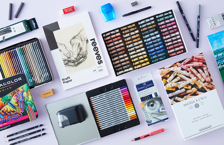 Sketch Kit Supplies Perfect for Creatives