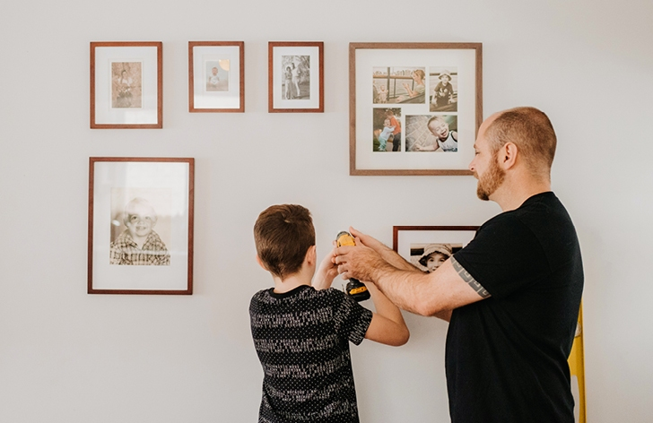 5 Photo Wall Ideas to Decorate Your Home