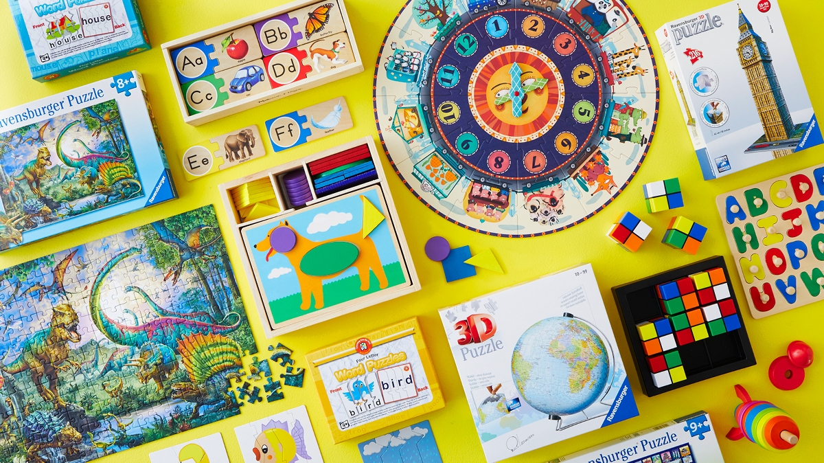 Discover how puzzles for kids can teach them essential learning and fine motor skills.