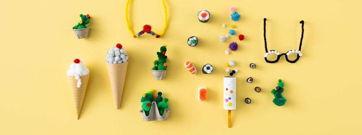 5 Fun DIY Pom Pom Craft Projects